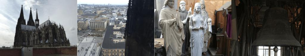 In und um den Kölner Dom herum